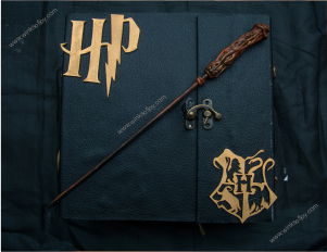 Harry potter themed scrapbook