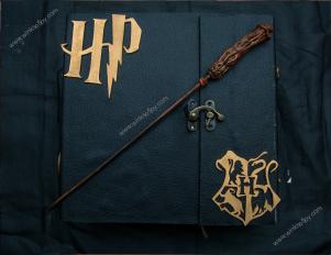 Harry potter themed scrapbook